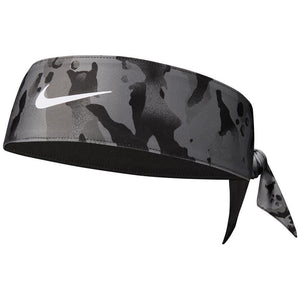 Nike Dri Fit Head Tie 3.0 Printed Reversible - Smoke Grey