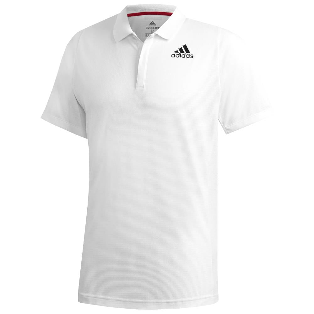 adidas Men's HEAT.RDY Freelift Tennis Polo - White
