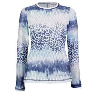 Sofibella Women's Air Flow Longsleeve Top - Panther Wash