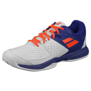 Babolat Men's Pulsion - Clay - White/Dazzling Blue