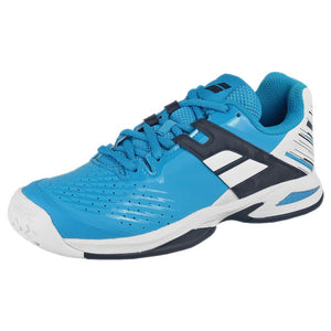 Babolat Junior Propulse - AC - White/Blue Aster