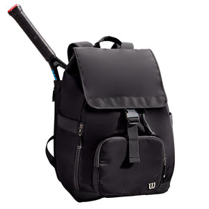 Women's Foldover Backpack - Black