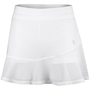 "Sofibella Women's Air Flow 14"" Skort - White"