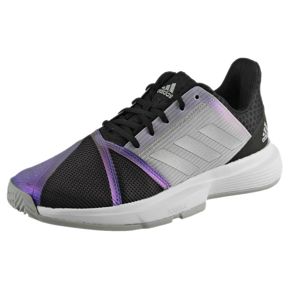 adidas Women's CourtJam Bounce - Core Black/Metallic ?id=16600644091994