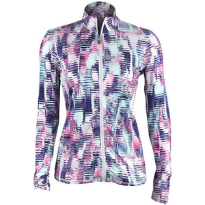 Sofibella Women's UV Feather Full Zip Jacket - Vibes