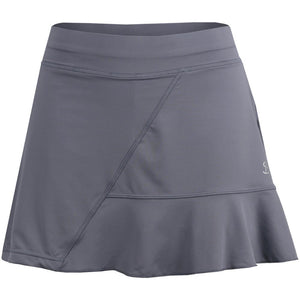 "Sofibella Women's Rose Anaconda 15"" Skort - Monopoly Grey"