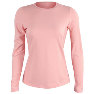 Sofibella Women's Rose Anaconda Longsleeve Top - Bubble