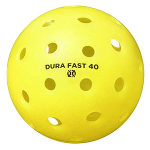 Onix Pickleball Dura Fast 40 Outdoor Single - Yellow