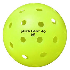 Onix Pickleball Dura Fast 40 Outdoor Single - Neon Green