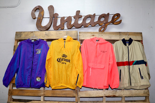 Vintage Windbreakers - Wholesale Vintage Fashion