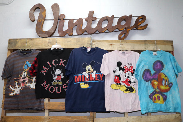 Mickey & Disney T-Shirts - Wholesale Vintage Fashion