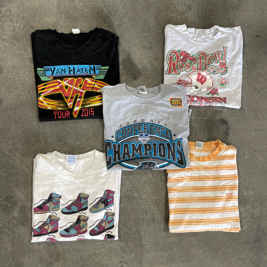 5 Tees Sampler Pack