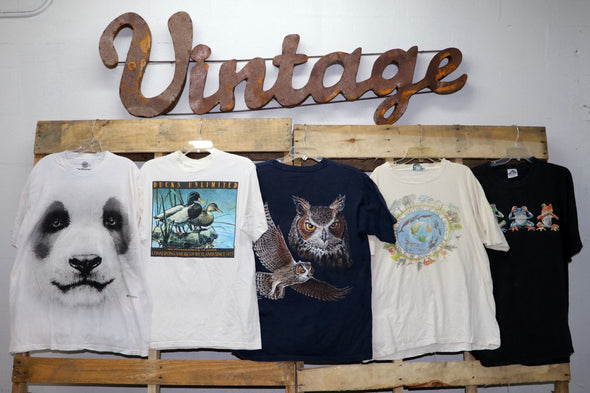Animal Print T-Shirts - Wholesale Vintage Fashion