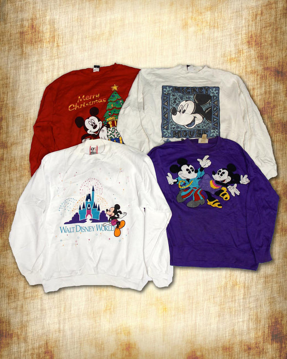 Mickey & Disney Sweatshirts - Wholesale Vintage Fashion