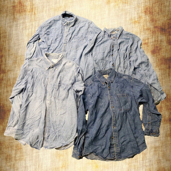 Denim Shirts - Wholesale Vintage Fashion