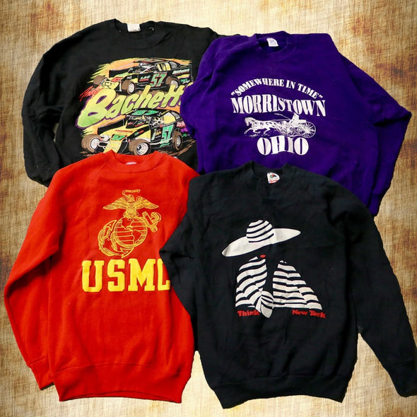 Vintage Graphic Sweatshirts - Wholesale Vintage Fashion