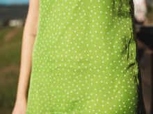 Load image into Gallery viewer, Tracy Polka Dots Green - Chiffon