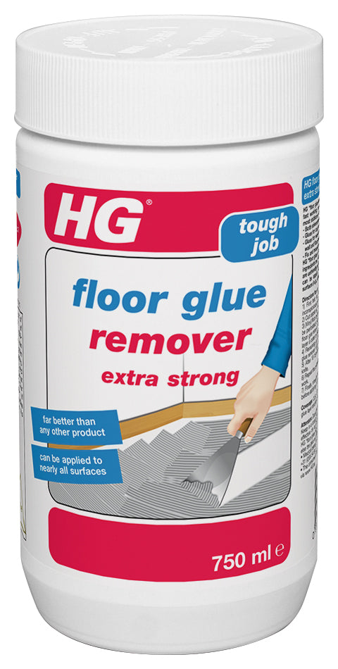 hg floor glue remover 750ml