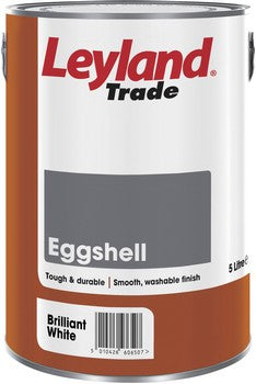 Leyland Eggshell Brilliant White