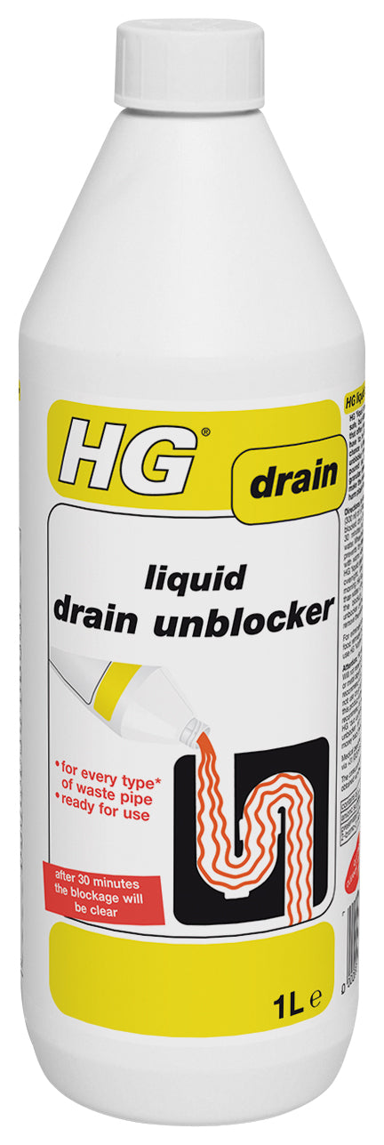 hg liquid drain unblocker 1l
