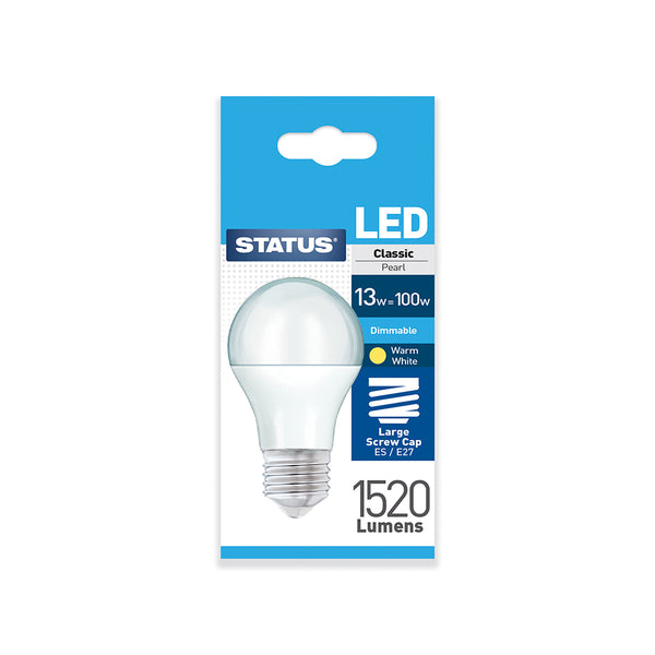 Status LED GLS ES 13W Dimmable