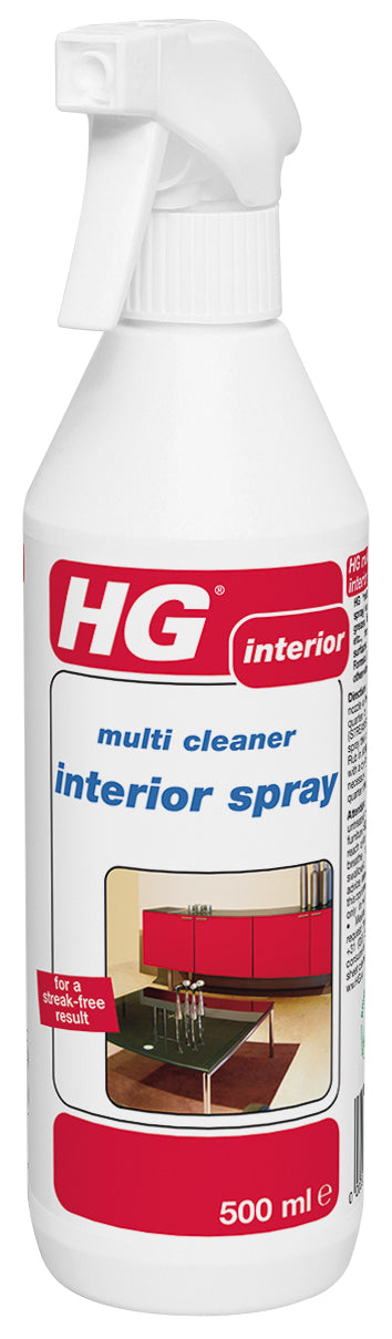 hg cleaner interior spray 500ml