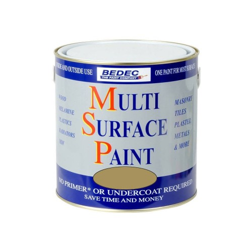 Bedec Multi Surface Paint Gold 250ml