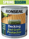 DECKING END GRAIN PROTECTOR 750 ml