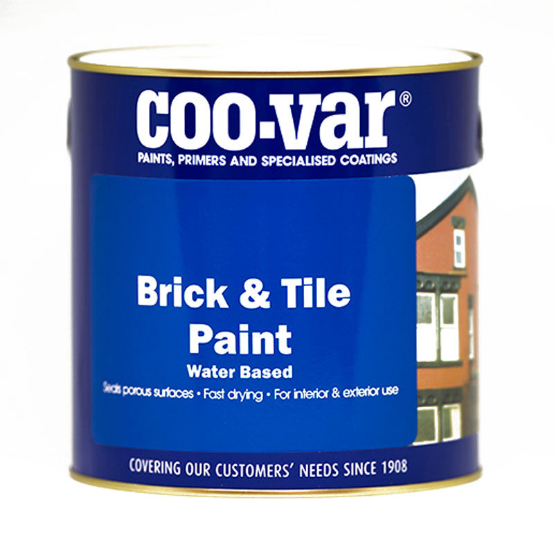 Brick and Tile Paint Matt Red