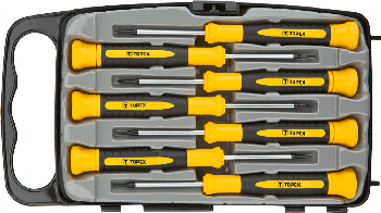 Precision screwdriver set 7pcs, CrV