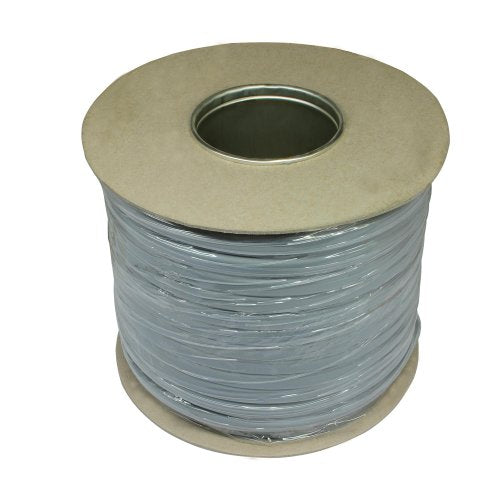Flat 1.5mm Grey 50m Cable