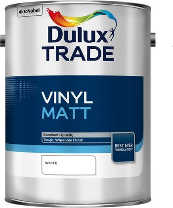 Dulux Trade Vinyl Matt White