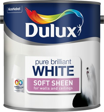 Dulux Soft Sheen Pure Brilliant White