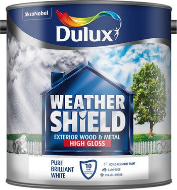 Dulux Weathershield Gloss Pure Brilliant White