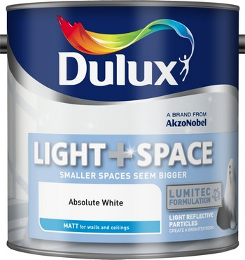 Dulux Light+Space Matt Absolute White