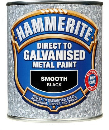Hammerite Direct Galvanised Black 750ml