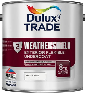 Dulux Trade Weathershield Undercoat Brilliant White