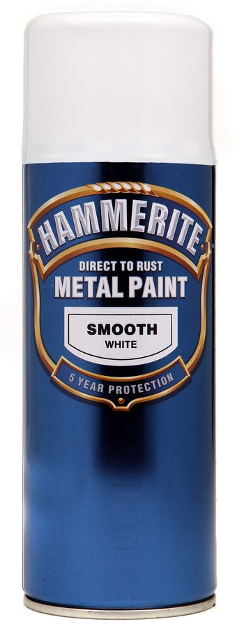Hammerite White Spray 400ml