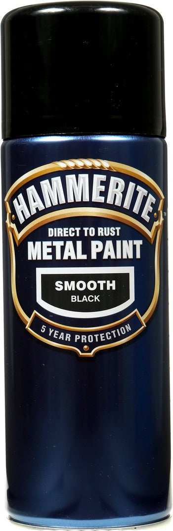 Hammerite Black Spray 400ml