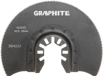 HCS half-circle blade for wood, 85 mm