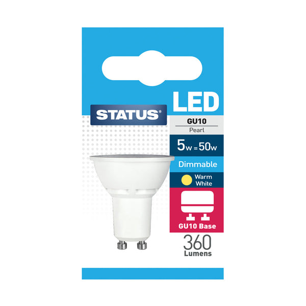 Status LED GU10 5W Dimmable
