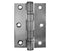 Steel Ball Bearing Hinge Satin Chrome