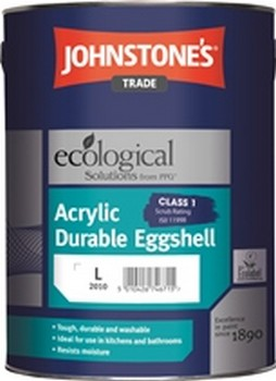 Johnstone's Acrylic Durable Eggshell Brilliant White