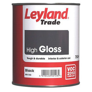 Leyland High Gloss Black