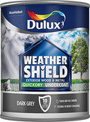 Dulux Weathershield Quick Dry Undercoat Dark Grey