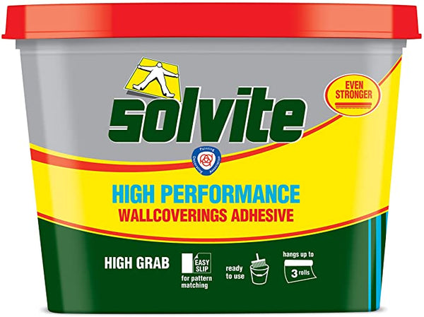 Solvite Ready Mix Wallpaper Adhesive 10KG