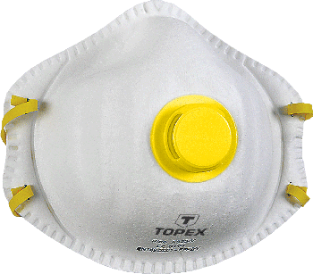 Dust protection half-mask with one valve FFP2, 2pc
