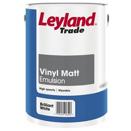 Leyland Vinyl Matt Brilliant White