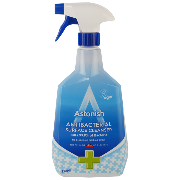 Astonish Antibacterial Cleaner Spray 750ml