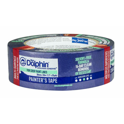 Blue Dolphin Painter's Tape 38mm x 50m
